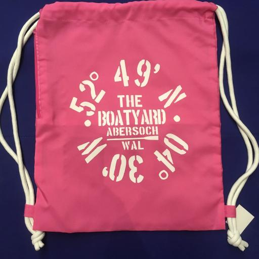 'CO-ORDINATES' DESIGN BEACH/SWIM/ PE KIT BAG, PINK