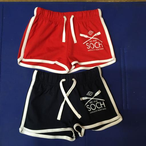 KIDS JERSEY SHORTS, RED