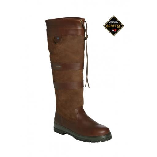 Dubarry Galway Country Boot, available in Walnut or Navy