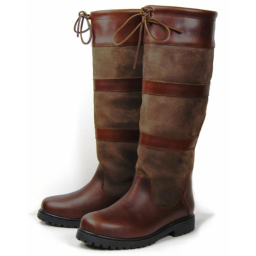 Orca Bay, Orkney Country Boot, Dark Brown