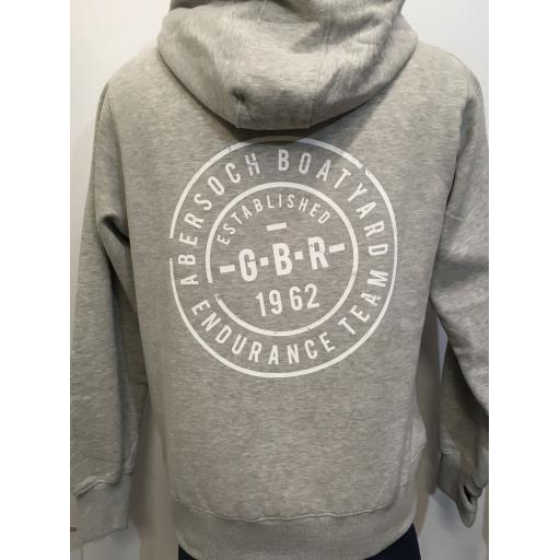 'GBR ENDURANCE TEAM' DESIGN HOODY , GREY