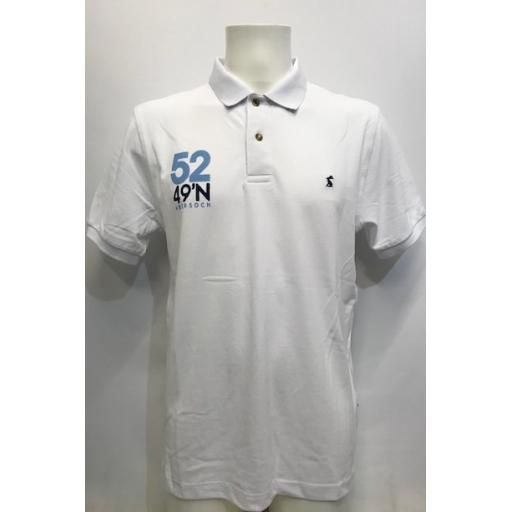 Mens 'Boatyard Sail Design' Joules Polo Shirt