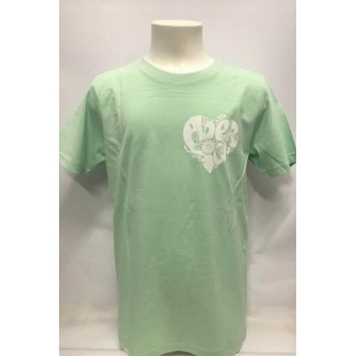 Kids 'Hippie Heart' Design T-Shirt