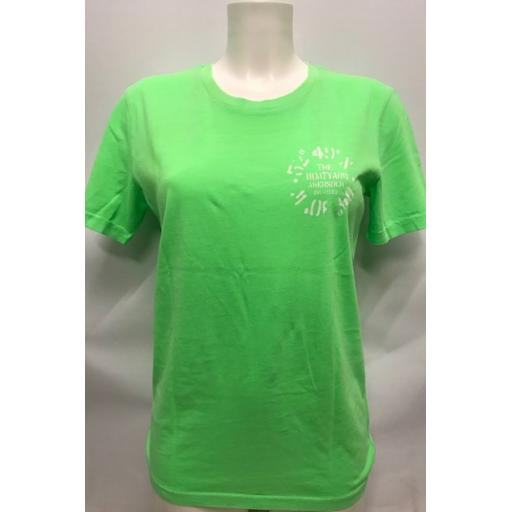 Mens Fluorescent 'Co-ordinates' T-Shirt