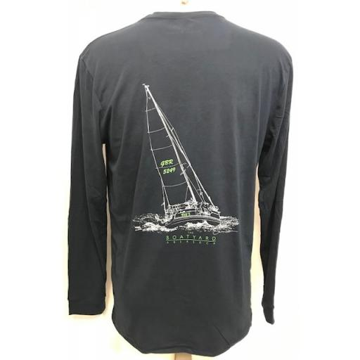 Tuds Yacht Design Long Sleeve T-Shirt