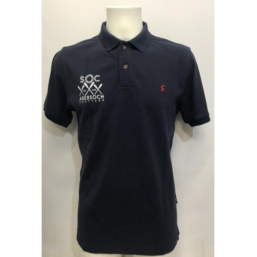 Men's 'Crossed Oars' Design Joules Polo Shirt