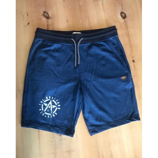 Mens Blend Petrol Blue Shorts