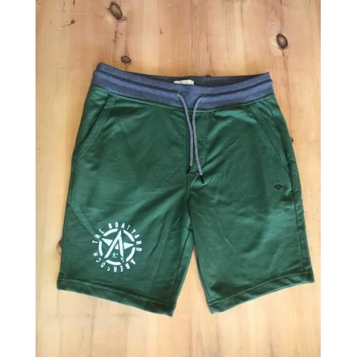 Mens Blend Green Shorts