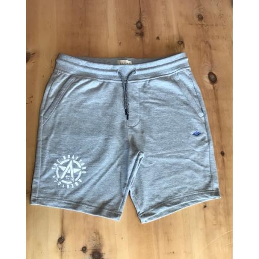 Mens Blend Grey Shorts