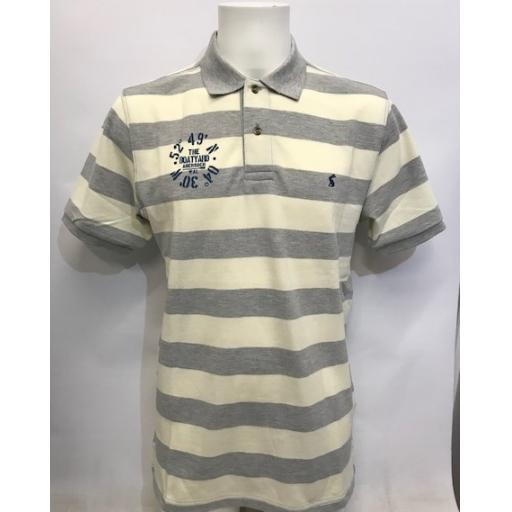Mens 'Co-ordinates' Design Striped Joules Polo