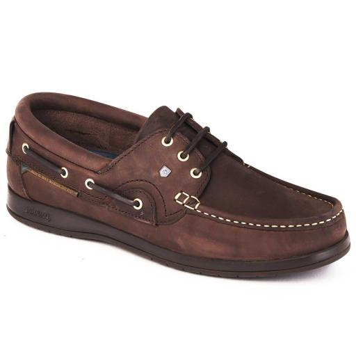 Dubarry Commodore X LT Deck Shoe, Old Rum