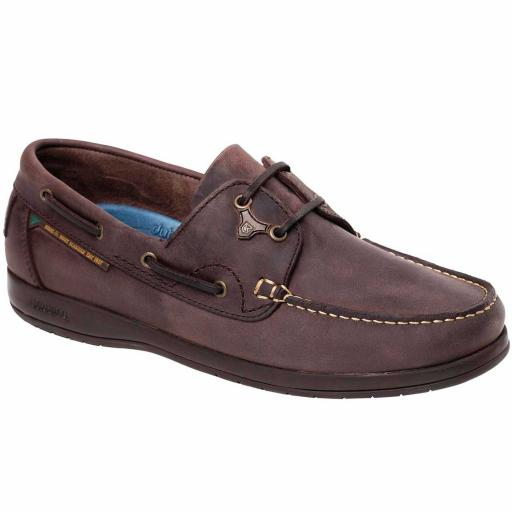 Dubarry Sailmaker X LT Deck Shoe, Old Rum