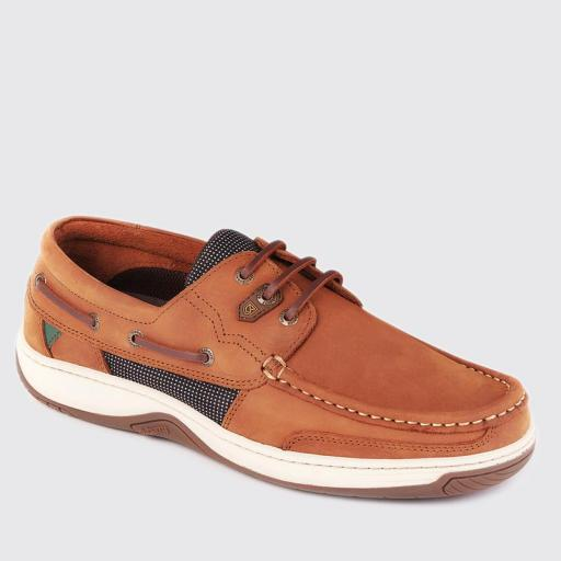 Dubarry Regatta Deck Shoe, Whiskey
