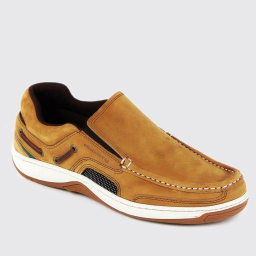 Dbarry Yacht Deck Shoes, Brown Nubuck