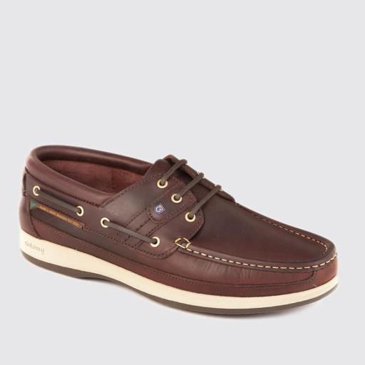 Dubarry Atlantic Deck Shoe, Old Rum