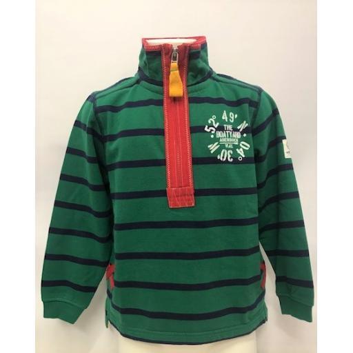 Kids Co-Ordinates Design 1/4 Zip Sweatshirt