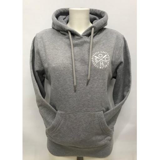 Organic Cotton Salt Water Co Design Hoodie, Grey