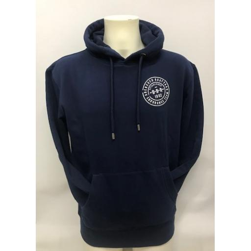 Organic Cotton Endurance Team Design Hoodie, Navy