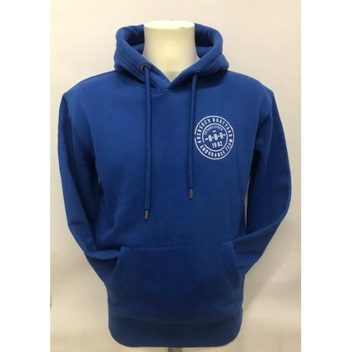 Organic Cotton Endurance Team Design Hoodie, Royal