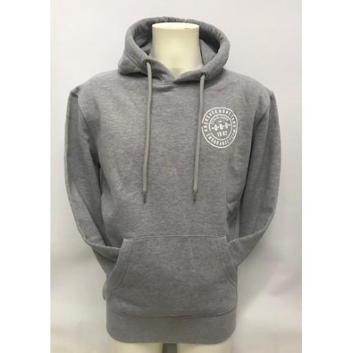 Organic Cotton Endurance Team Design Hoodie, Grey