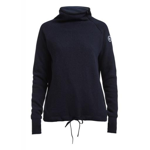 Holebrook Martina Knitted Windproof, Navy