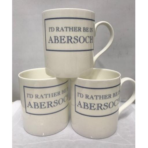 """I'd Rather Be In Abersoch"" Mug"