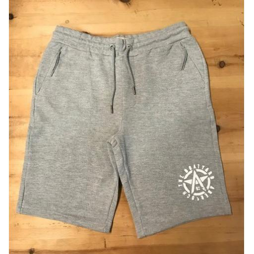 Mens Blend Light Grey Shorts