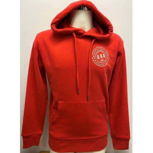 'GBR ENDURANCE TEAM' DESIGN HOODY , RED