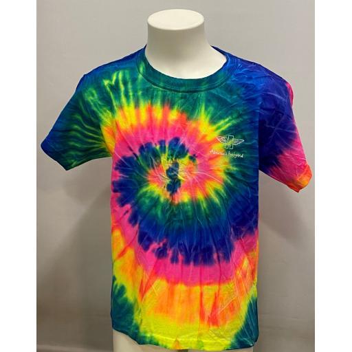 Kids Tie dye T-shirt, Multi Colour