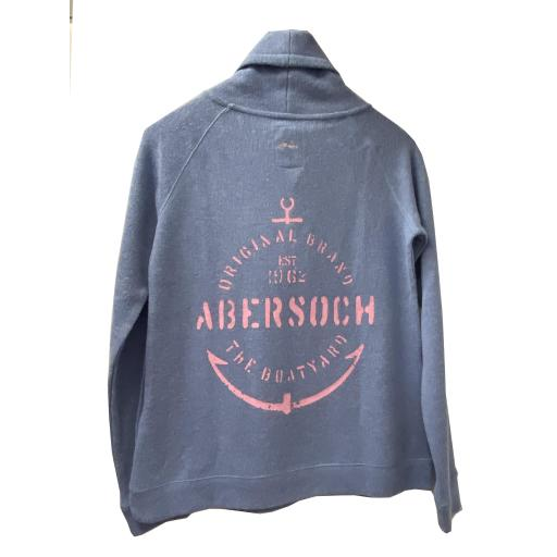 Anchor Design Joules Jumper, Over-sized Collar, Blue Marl