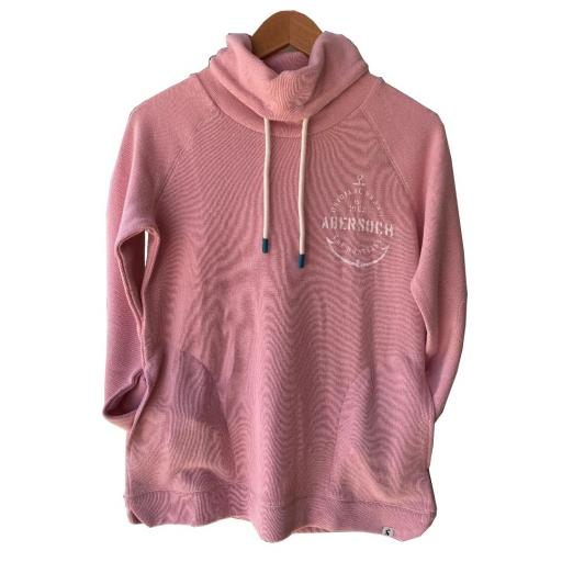 Anchor Design Joules Jumper, Over-sized Collar, Pink